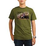 motorcycle-off-road Organic Men's T-Shirt (dark)