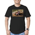 motorcycle-off-road Men's Fitted T-Shirt (dark)