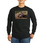 motorcycle-off-road Long Sleeve Dark T-Shirt
