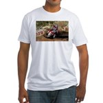 motorcycle-off-road Fitted T-Shirt