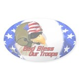 American Helo Eagle Oval Decal