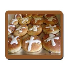 Hot Cross Buns Mousepad