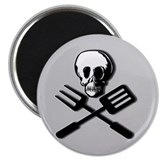 """DEADLY FOOD"" Magnet"