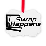 SwapHappensDesign2.png Picture Ornament