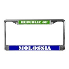 Funny Trade License Plate Frame