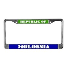 Funny Riding License Plate Frame