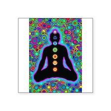 Chakra Energy Rectangle Sticker
