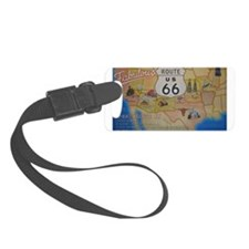 Route 66 Map Luggage Tag