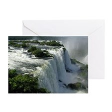 Iguacu Falls, Brazil 2 Greeting Cards (Package of