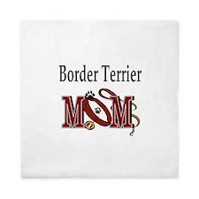 Border Terrier Mom Queen Duvet