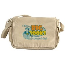 I Like Big Books Messenger Bag