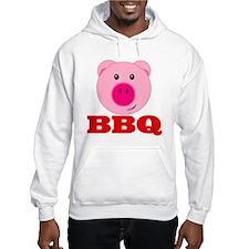 Pink Pig Red BBQ Hoodie