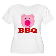Pink Pig Red BBQ T-Shirt