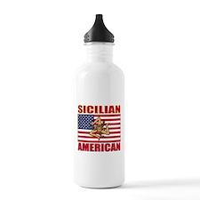 Sicilian American Water Bottle