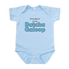 Grandpas Batcha Galoop Blue Onesie