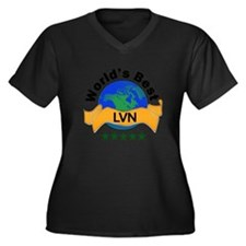 Funny Ob nurse Women's Plus Size V-Neck Dark T-Shirt