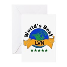 Cute Lvn Greeting Cards (Pk of 10)