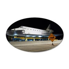 Shuttle Crossing Wall Decal
