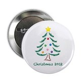 "Christmas Tree 2012 2.25"" Button (100 pack)"