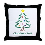 Christmas Tree 2012 Throw Pillow
