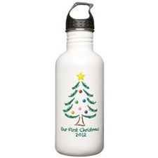 Our First Christmas 2012 Water Bottle