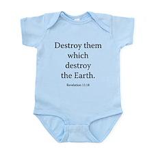 Revelation 11:18 Infant Bodysuit