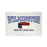 Wilmington, North Carolina NC USA Rectangle Magnet