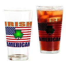 Irish American Pride Drinking Glass