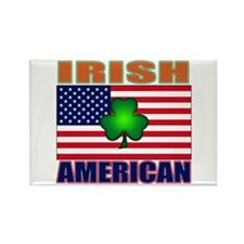 Irish American Pride Rectangle Magnet (10 pack)