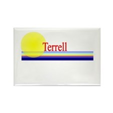 Terrell Rectangle Magnet