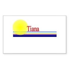 Tiana Rectangle Decal