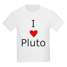 i heart Pluto Kids T-Shirt