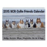 2013 Collie Friends II Calendar