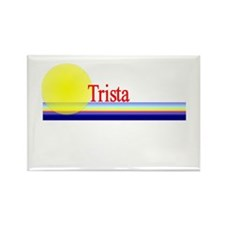 Trista Rectangle Magnet (100 pack)