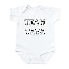 TEAM TAYA T-SHIRTS Infant Creeper