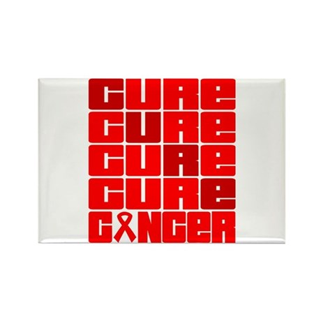 CURE Blood Cancer Collage Rectangle Magnet