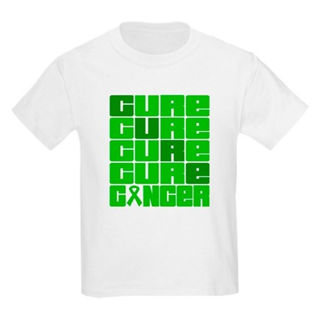 CURE Bile Duct Cancer Collage Kids Light T-Shirt
