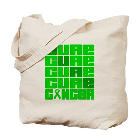 CURE Bile Duct Cancer Collage Tote Bag