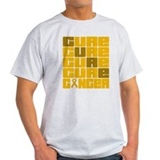 CURE Appendix Cancer Collage T-Shirt