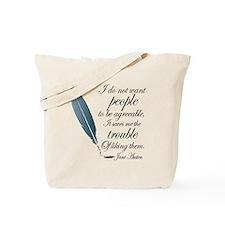 Austen Agreeable People Tote Bag