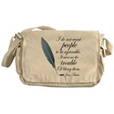 Austen Agreeable People Messenger Bag