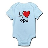 I Love My Opa Baby Bodysuit