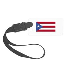 puerto rico flag clean.png Luggage Tag