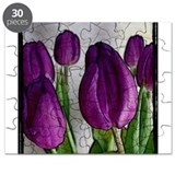 Purple Tulips Puzzle