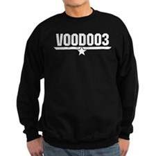 VOODOO3 - WHITE INK Jumper Sweater