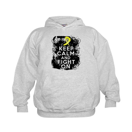 Testicular Cancer Keep Calm and Fight On Kids Hood