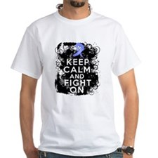 Stomach Cancer Keep Calm and Fight On Shirt