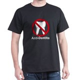 Anti-Dentite Black T-Shirt