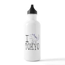 I Godzilla TOKYO (new) Water Bottle