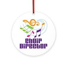 Music Gift Ornament (Round)
